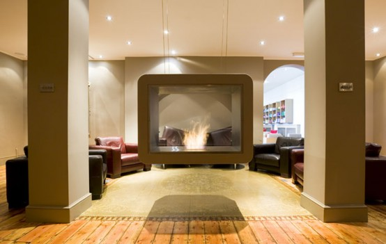 life examples of using modern fireplaces in home decorating digsdigs