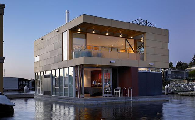 Modern Floating Home