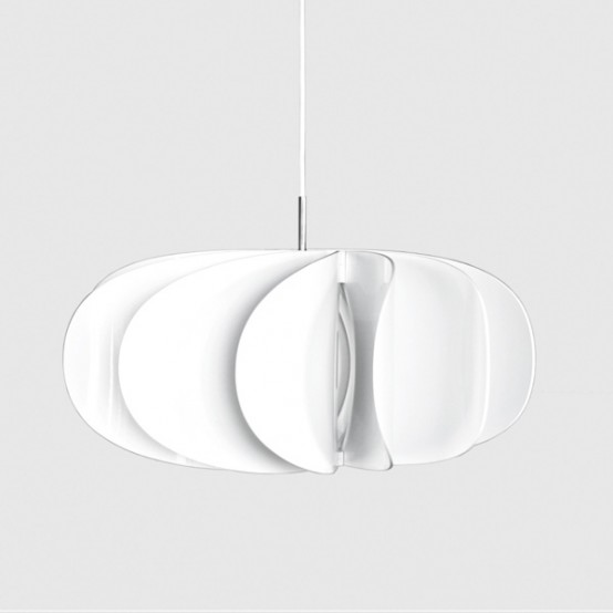 Modern Pendant Lamp Inspired By Floral Forms