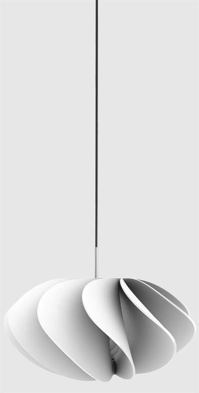 Modern Floral Pendant Lamp
