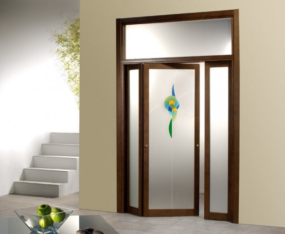 Architecture homes modern home doors - Puertas de madera con cristal ...