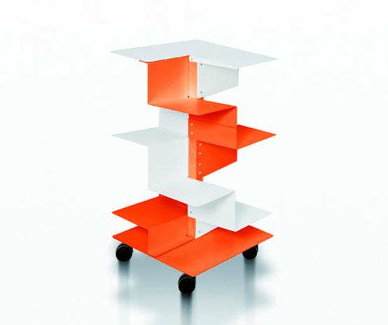 Modern Freestanding Bookshelving
