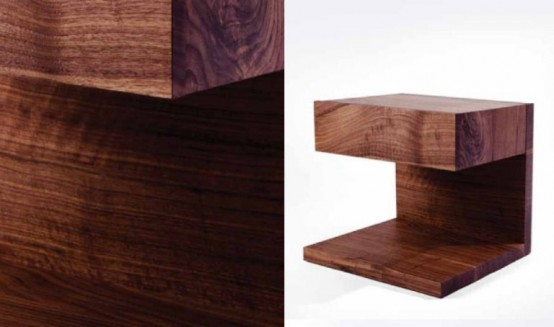 Modern Furniture Collection With An Exquisite Wood Pattern