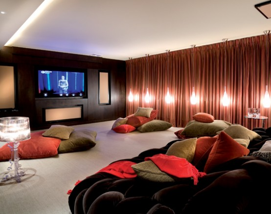 Modern Luxury Home Theater