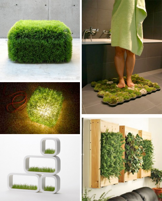 modern green furniture
