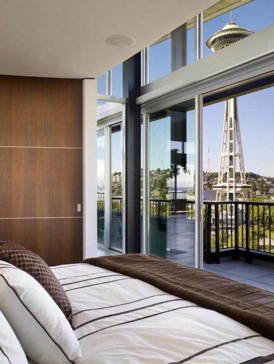 Modern Green Mosler Lofts Design
