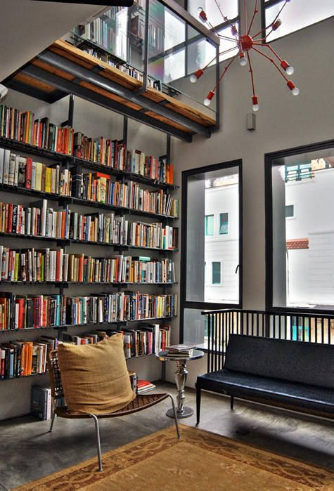 Home Library Pictures modern home libraries - home design