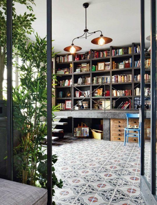 Fabulous 27 Modern Home Library Designs That Stand Out Digsdigs Largest Home Design Picture Inspirations Pitcheantrous