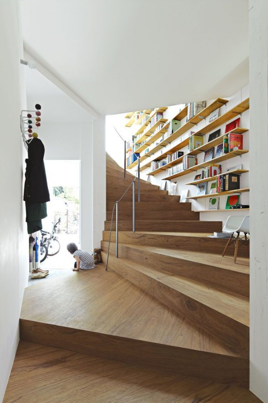 27 Modern Home Library Designs That Stand Out - DigsDigs
