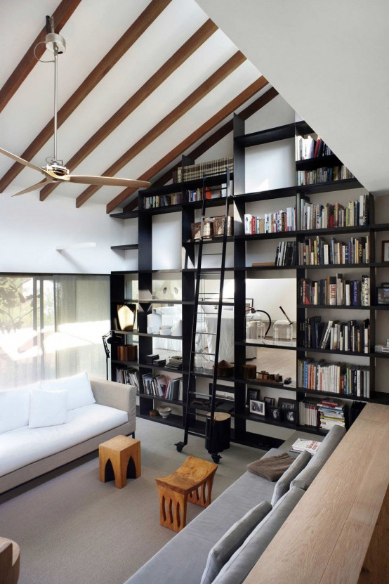 Living Room Library Design Ideas: 54 Modern Home Library Designs That Stand Out