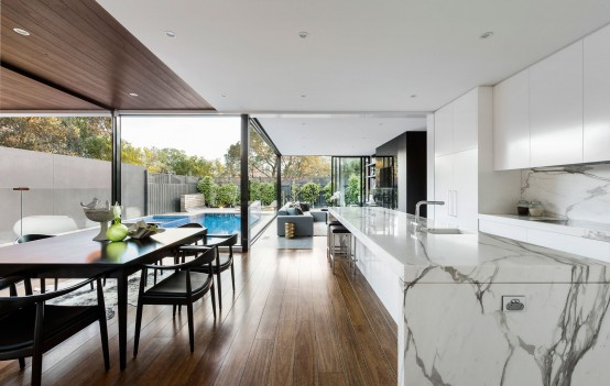 Modern Home With A Stylish Extension At The Back