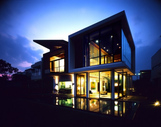 Modern Pool House Plans