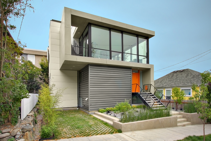 Modern House Design On Small Site Witin A Tight Budget U2013 Crockett Residence