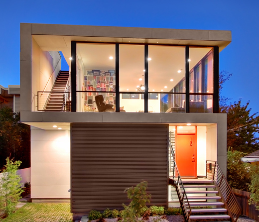 Modern Architecture Home Design: Modern House Design On Small Site Witin A Tight Budget