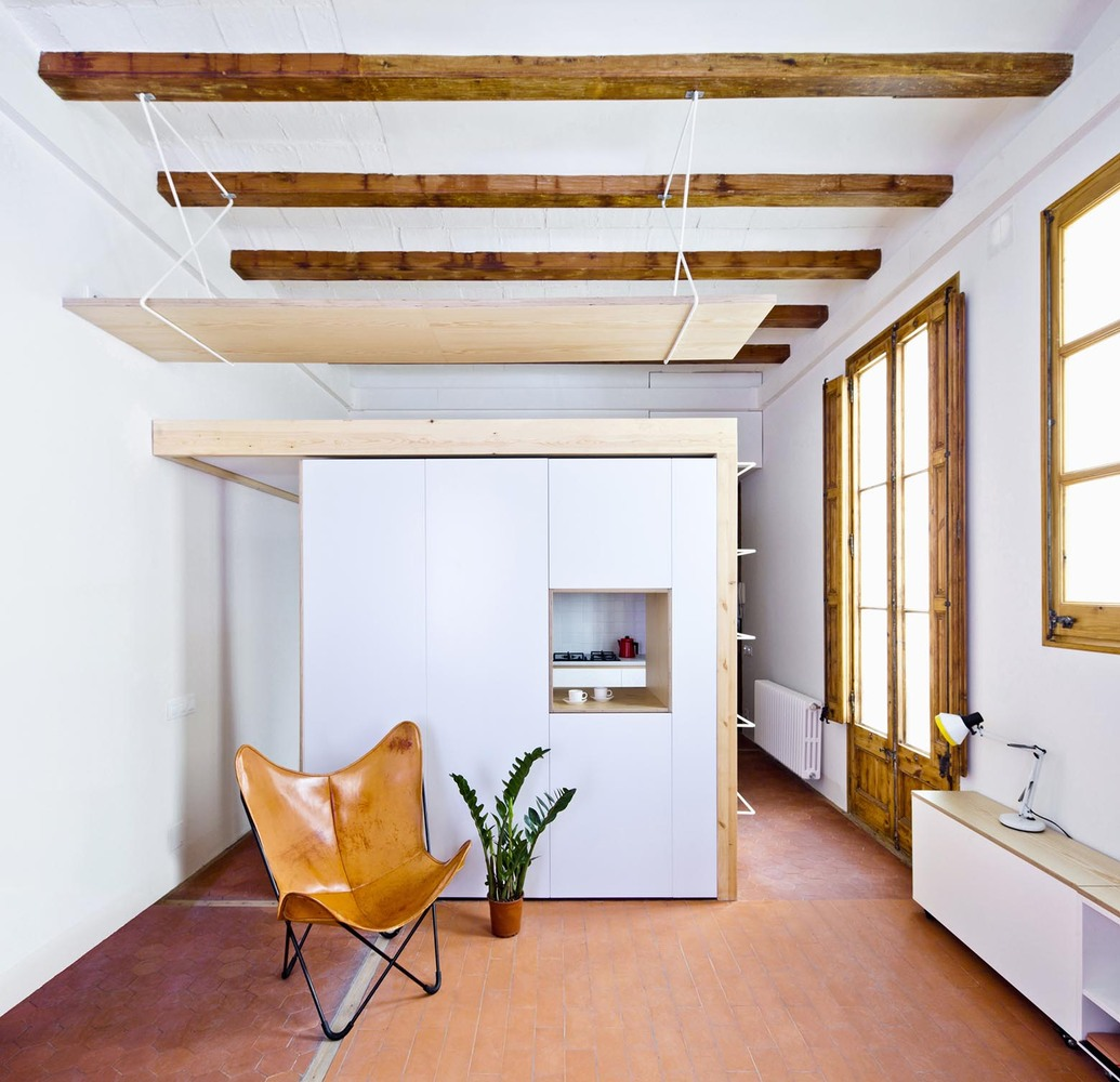 Picture Of modern house design with lots of wood and exposed beams  2