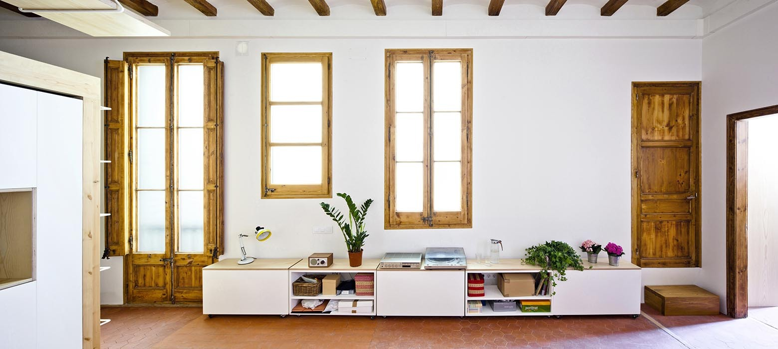 Picture Of modern house design with lots of wood and exposed beams  3