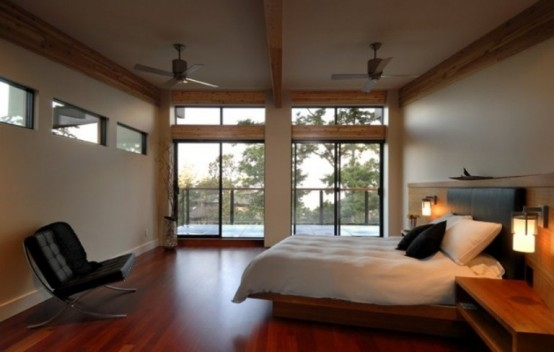 Modern House Interior To Merge With Nature