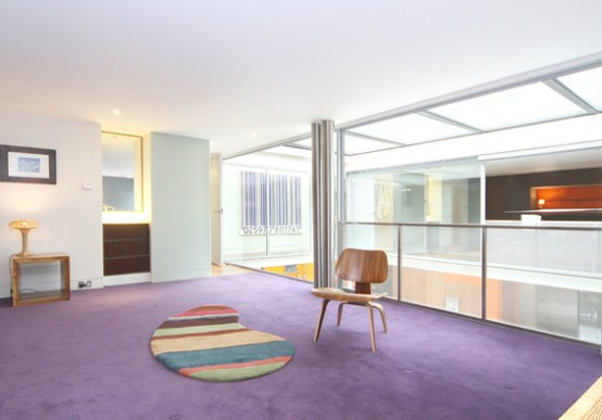 Modern House With Three Floors