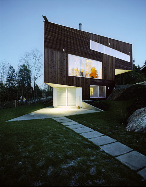 Modern House With Wooden Cladding