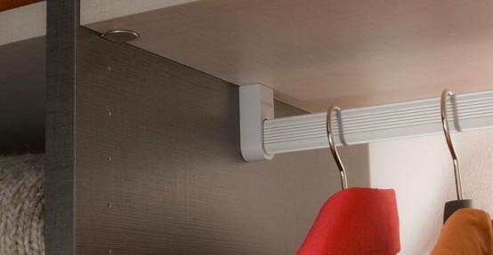 Modern Interior Closet Storage System