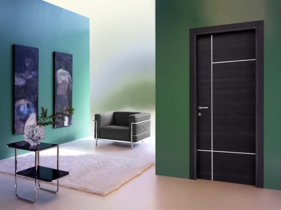 Modern interior doors from toscocornici design digsdigs Modern glass doors interior