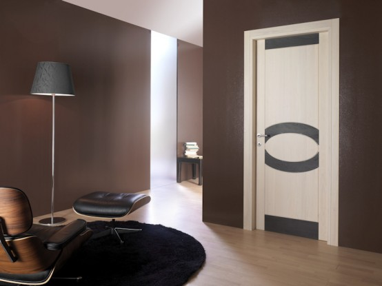 Modern interior doors from toscocornici design digsdigs for Door design and colour