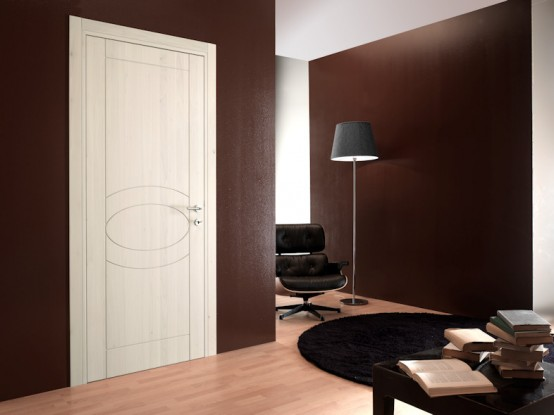 Modern interior doors from toscocornici design digsdigs for Interior door styles for homes