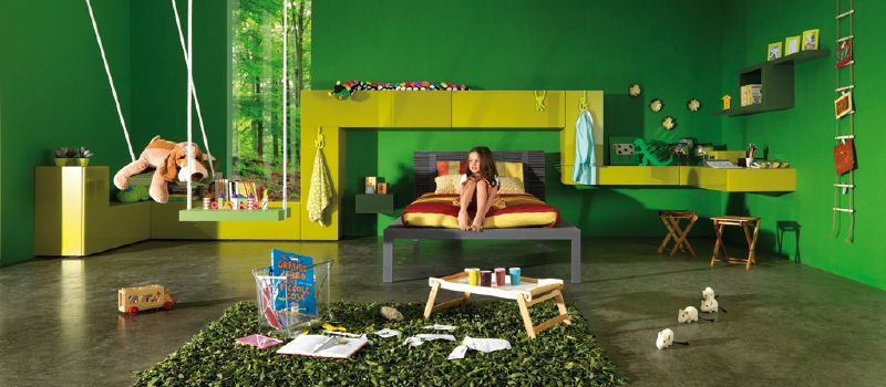 Ultra modern kids bedroom designs by lago digsdigs - Ultra modern bedrooms for girls ...