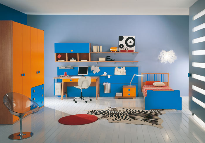 45 kids room layouts and decor ideas from pentamobili for Children s room mural