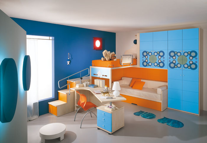 45 kids room layouts and decor ideas from pentamobili for Deco chambre de garcon