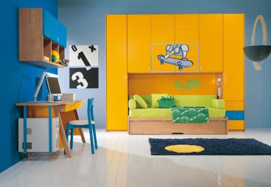 صور غرف نوم اطفال 2012- اجمل ديكورات لغرف النوم - تصاميم حديثة لغرف الاطفال modern-kids-room-dec