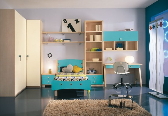 ����� 2012- ���� ������� ���� modern-kids-room-dec
