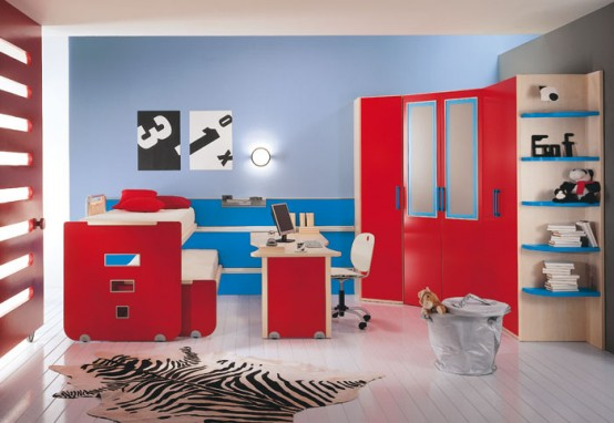 Modern Kids Room Decor Idea