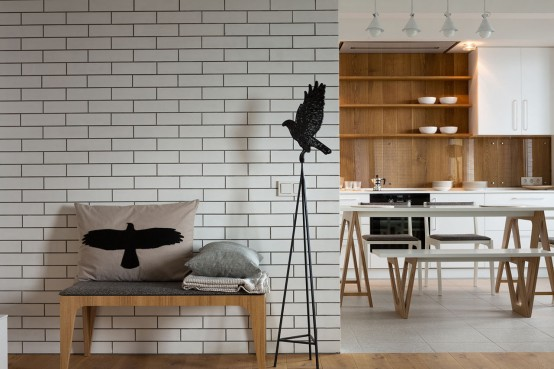 Brick Apartment Interior Amazing Apartments With Brick Walls Best - White brick interiors