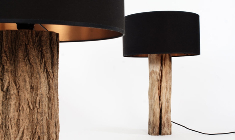 Modern Lamps Reminding Of Bonsai Trees