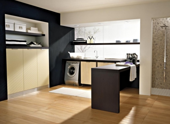 Modern laundry room design and furniture from idea group Design a laundr room laout