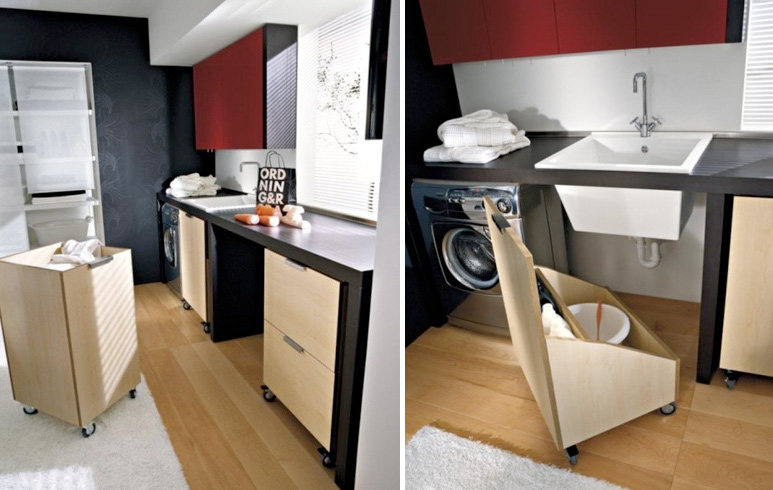 Modern Laundry Room Design and Furniture from Idea Group | DigsDigs