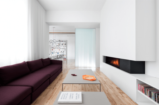Modern Lively Apartment In An Industrial Building
