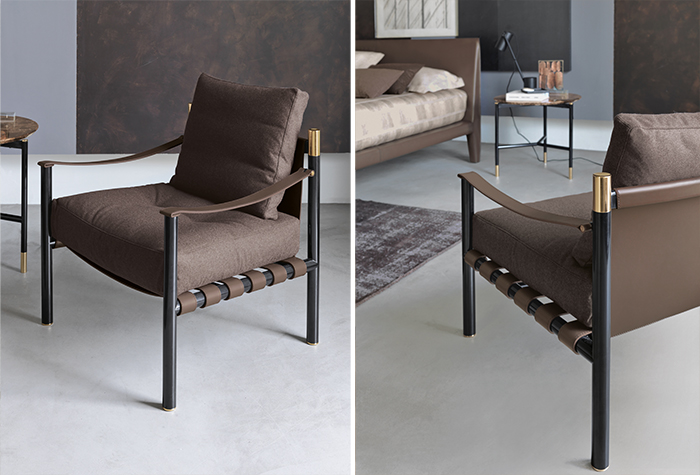 Picture Of modern luxurious iko furniture collection in earthy shades  13