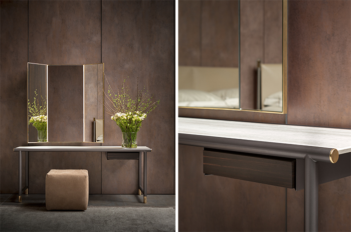 Picture Of modern luxurious iko furniture collection in earthy shades  17