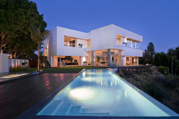 California modern luxury residence nightingale drive for California los angeles houses