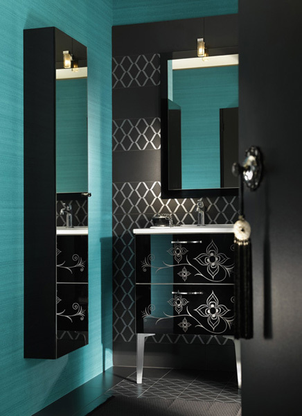 Modern Moroccan Bathroom Furniture and Inspiration ... on Contemporary:kkgewzoz5M4= Small Bathroom Ideas  id=76863