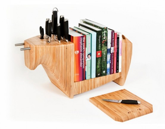 Modern Multifucntional Kitchen Shelf