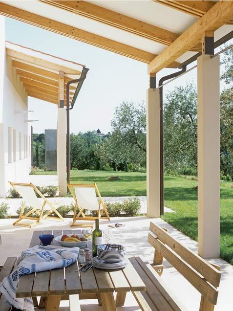 Modern Open Air Deck