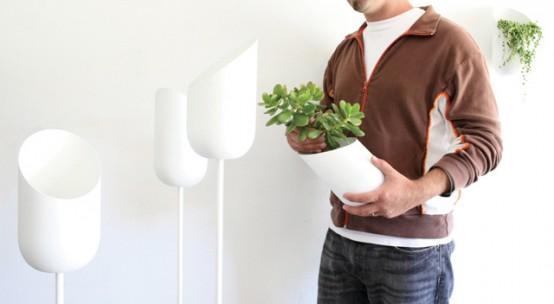 Modern Oval Planters