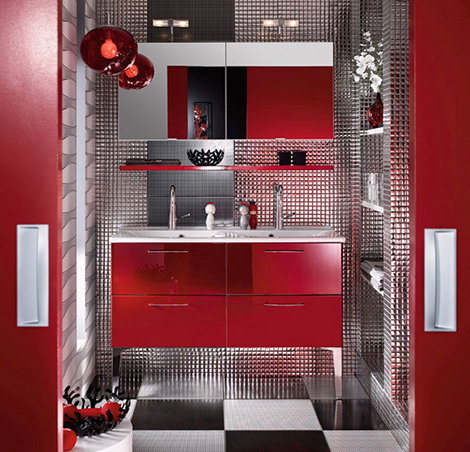 43 Bright And Colorful Bathroom Design Ideas | DigsDigs