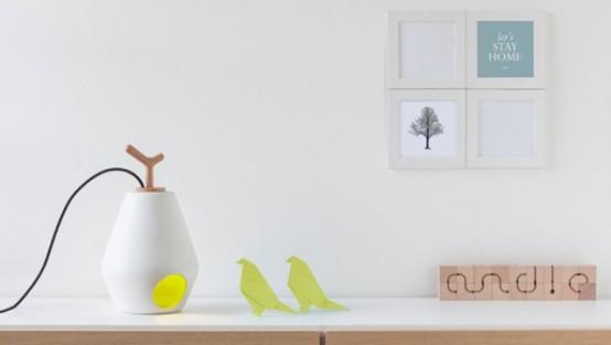 Modern Reinterpretation Of The Lantern: Andle Lamp