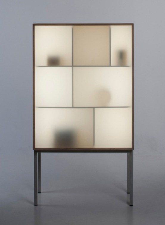Modern Reinterpretation Of Traditional Glass Cabinet