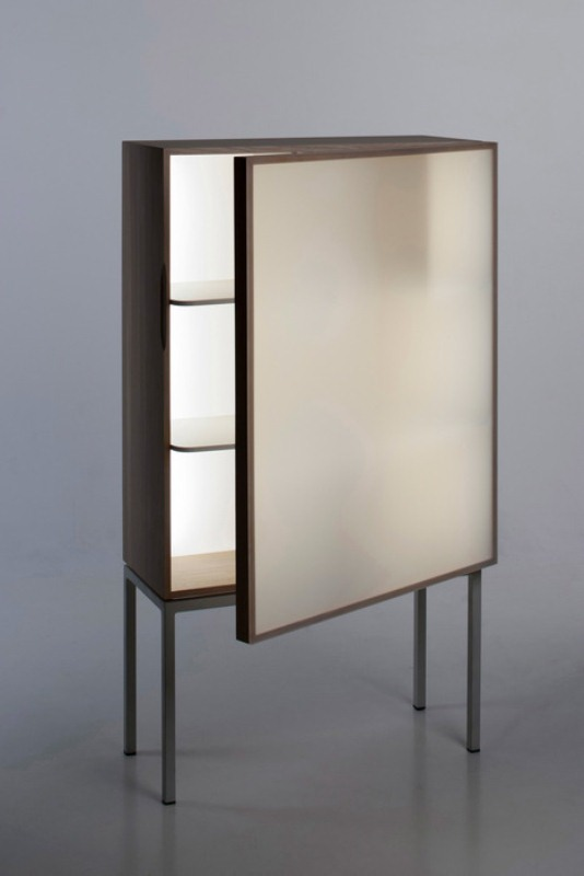 Modern Reinterpretation Of Traditional Glass Cabinet
