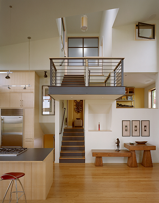A prettyboy 39 s blog modern remodel of the post war split for Remodeling a split level home